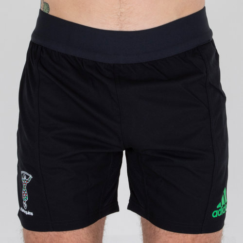 Harlequins 2018 Home Players Rugby Shorts