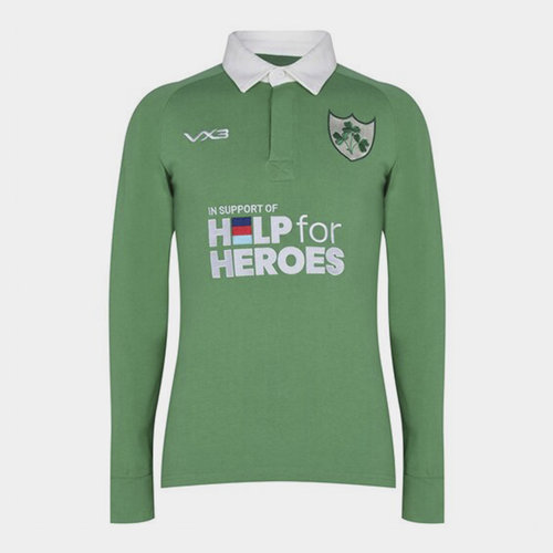 Help 4 Heroes Ireland Long Sleeve Jersey Mens