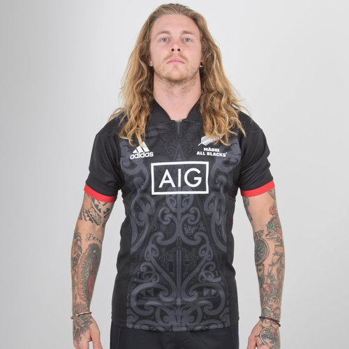 New Zealand Maori All Blacks 2018 S/S Rugby Shirt