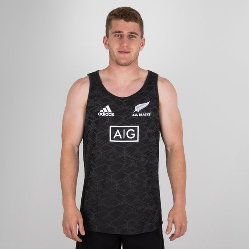 New Zealand All Blacks 2018/19 Rugby Training Singlet