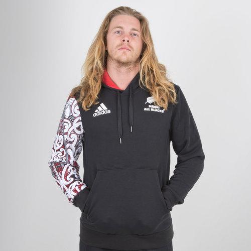 New Zealand Maori All Blacks 2018/19 Hooded Rugby Sweat