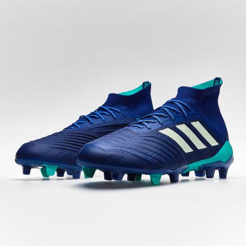 299e05e4a573 adidas Predator 18.1 FG Football Boots. Unity Ink Aero Green Hi Res Blue