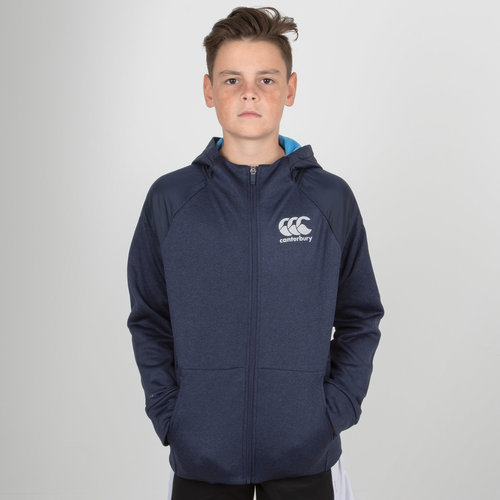 Vaposhield Youth Full Zip Hooded Rugby Sweat