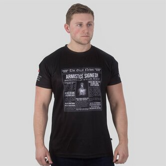 Army Rugby Union WWI Commemorative Headlines Rugby T-Shirt