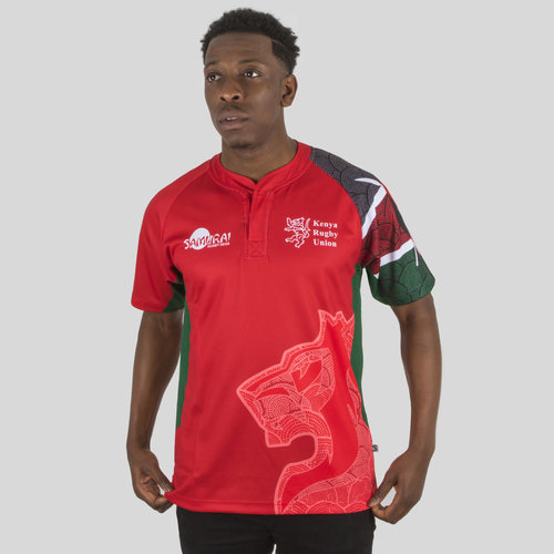 Kenya 7s 2017/18 Home S/S Replica Rugby Shirt
