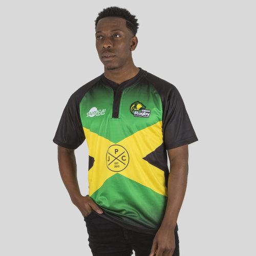 Jamaica 7s 2017/18 Home S/S Replica Rugby Shirt