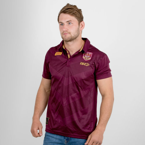 Queensland State Of Origin 2018 NRL Players Rugby Polo Shirt