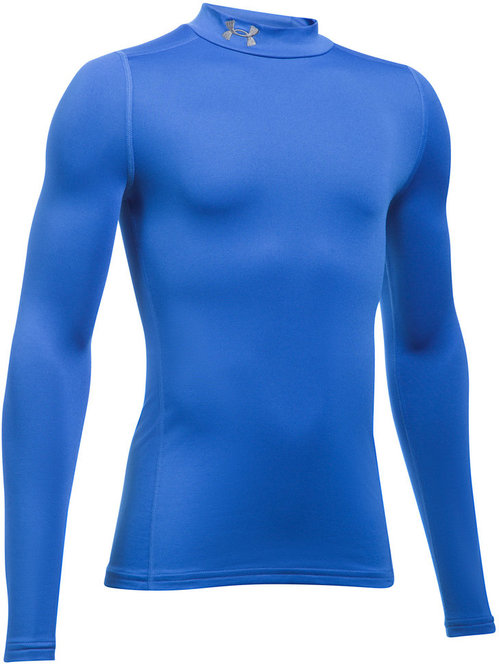 ColdGear Armour Kids Compression Mock L/S Top