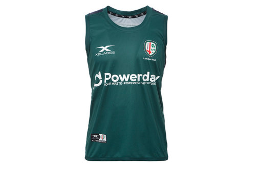 London Irish 2017/18 Players Rugby Training Vest