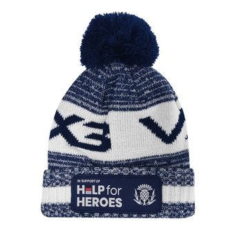 Help For Heroes Scotland Bobble Hat Mens