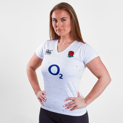 England 2018/19 Ladies Home Pro S/S Rugby Shirt