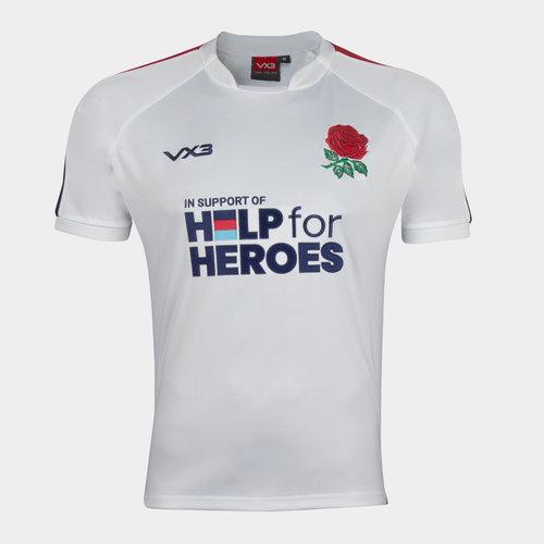 Help 4 Heroes England Short Sleeve Jersey Mens