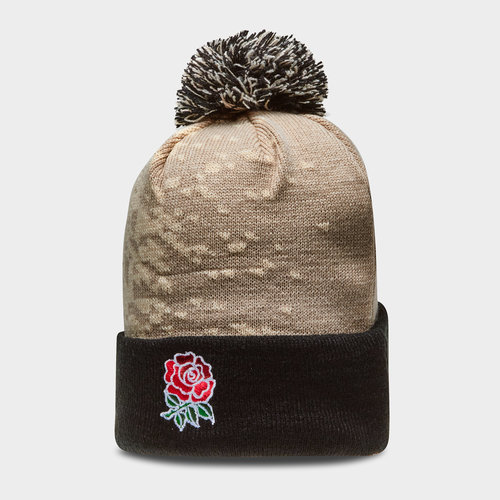England 2018/19 Acrylic Rugby Bobble Hat