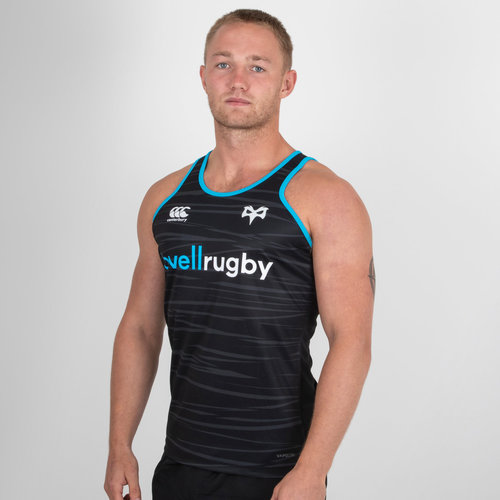 Ospreys 2018/19 Players Poly Rugby Training Singlet
