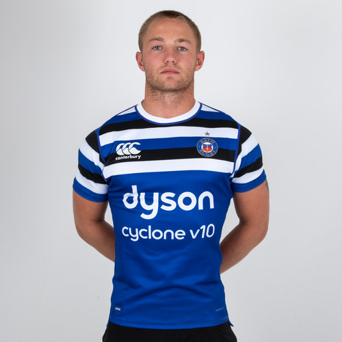 Bath 2018/19 Home S/S Players Rugby Test Shirt