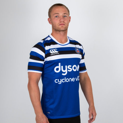 Bath 2018/19 Home S/S Pro Rugby Shirt
