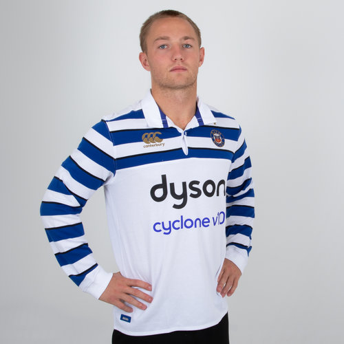 Bath 2018/19 Alternate L/S Classic Rugby Shirt