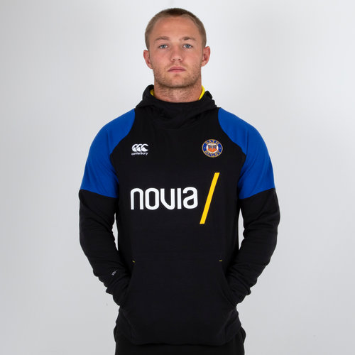Bath 2018/19 Hybrid Hooded Rugby Sweat