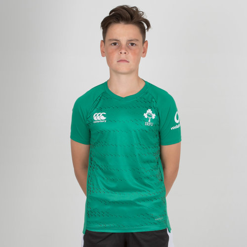 Ireland IRFU 2018/19 Kids Superlight Rugby Training T-Shirt