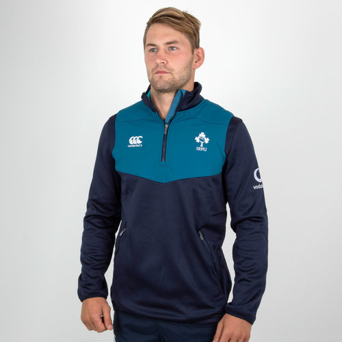 Ireland IRFU 2018/19 Players 1/4 Zip Rugby Training Top