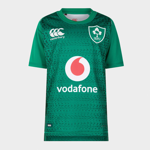 Ireland IRFU 2018/19 Youth Home Pro S/S Rugby Shirt
