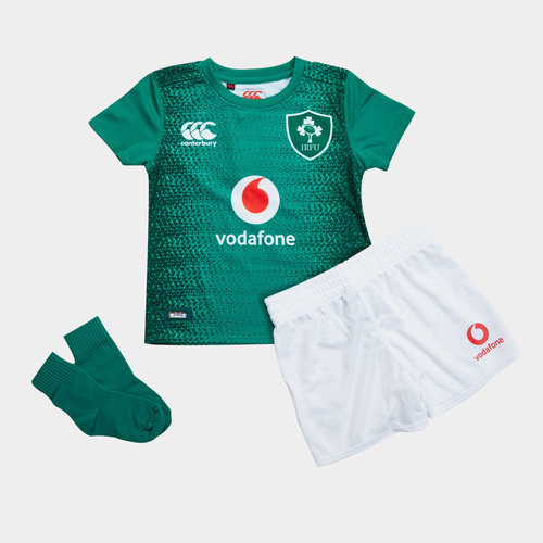 Ireland IRFU 2018/19 Kids Home Infant Rugby Kit