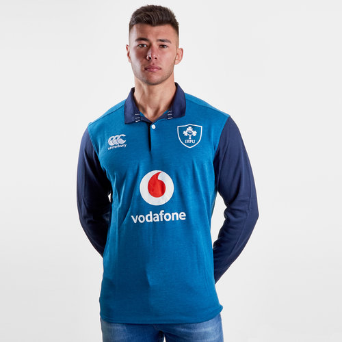 Ireland IRFU 2018/19 Alternate Classic L/S Shirt