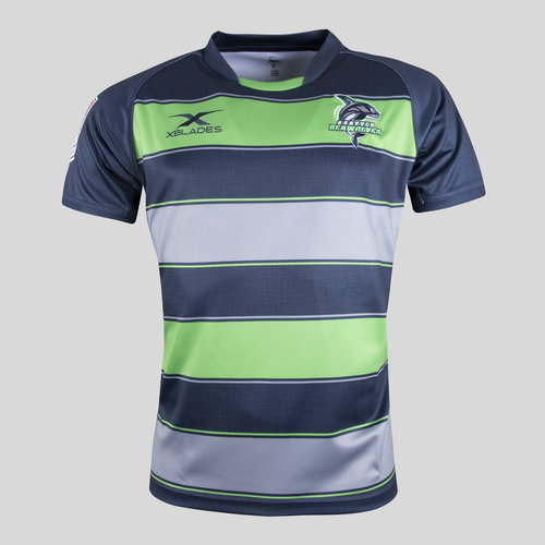 Seattle Seawolves MLR 2018 Home S/S Rugby Shirt