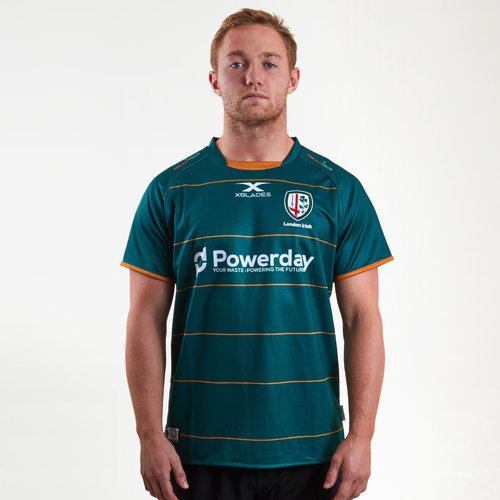 London Irish 2018/19 Home S/S Replica Rugby Shirt