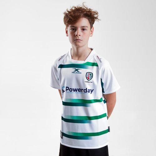 London Irish 2018/19 Youth Alternate S/S Replica Rugby Shirt