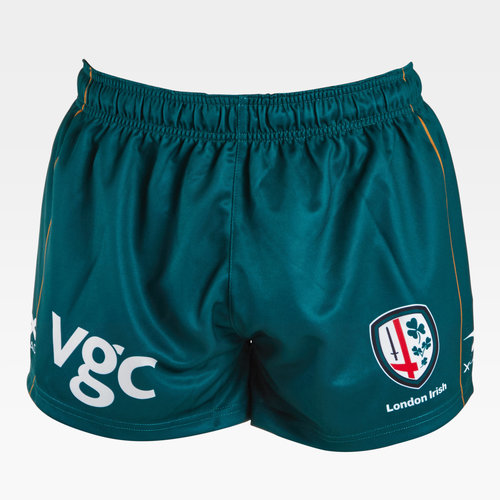 London Irish 2018/19 Youth Home Rugby Shorts