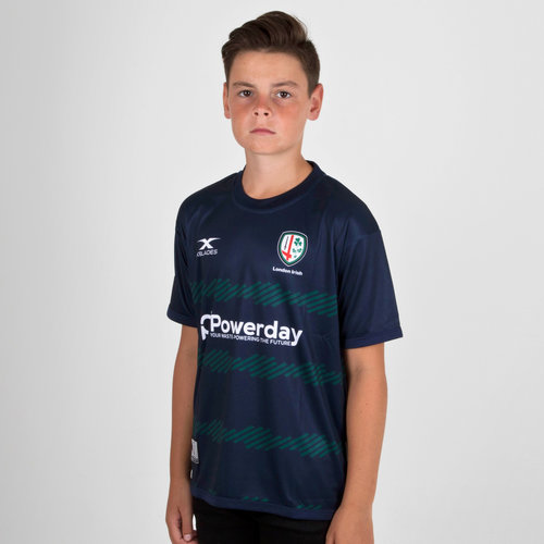 London Irish 2018/19 Youth Rugby Training T-Shirt
