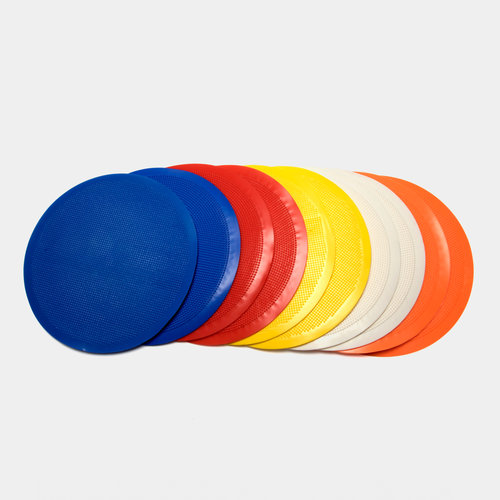 Flat Round Markers - Set of 10