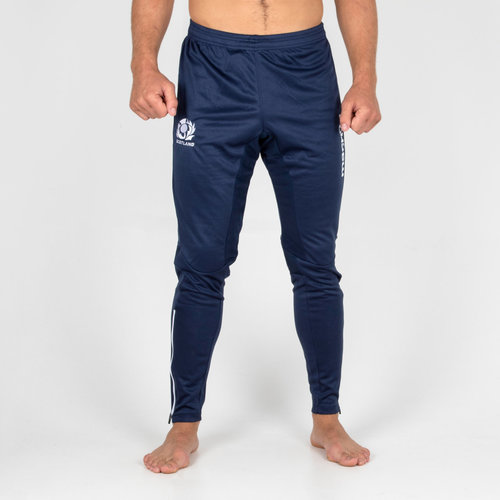 Scotland 2018/19 Players Fitted Rugby Track Pants