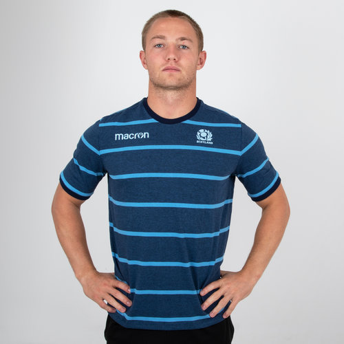 Scotland 2018/19 Travel Rugby T-Shirt