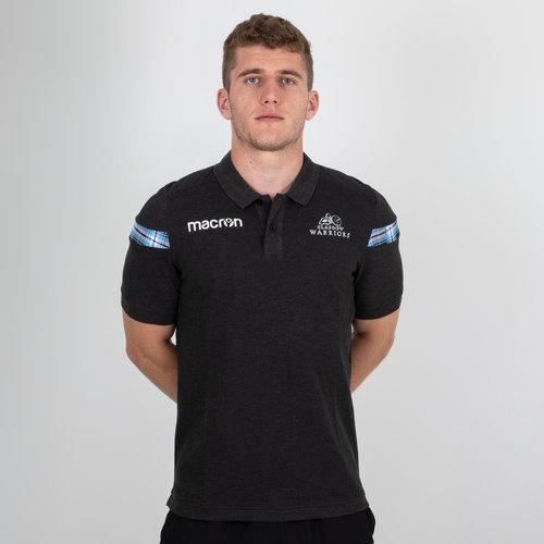 Glasgow Warriors 2018/19 Cotton Piquet Rugby Polo Shirt