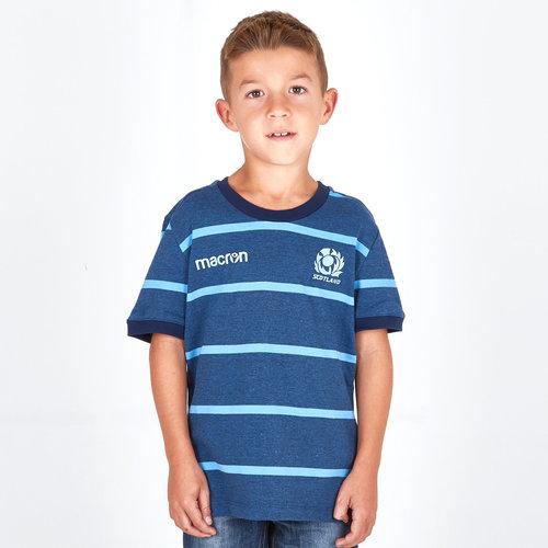 Scotland 2018/19 Kids Travel Rugby T-Shirt