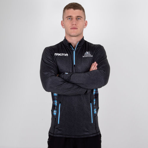 Glasgow Warriors 2018/19 Players 1/4 Zip Training Top