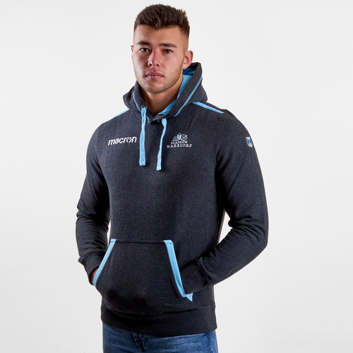 Glasgow Warriors 2018/19 Heavy Cotton Hooded Rugby Sweat