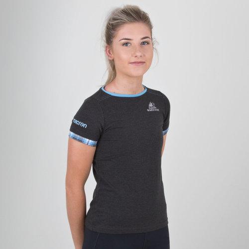 Glasgow Warriors 2018/19 Ladies Cotton T-Shirt