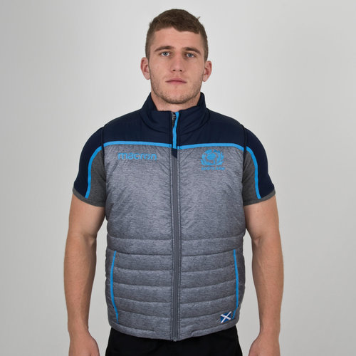 Scotland 2018/19 Players Padded Rugby Gilet