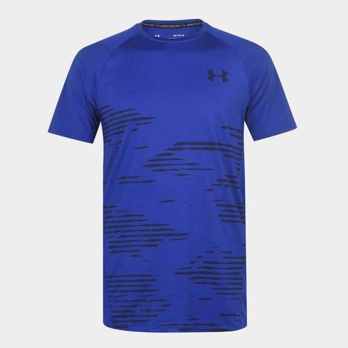 Short Sleeve Camo T Shirt Mens