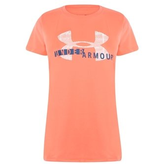 UA Tech Ladies Graphic S/S Training T-Shirt