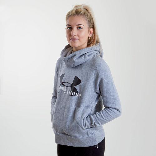 UA Sportstyle Ladies Logo Hooded Sweat
