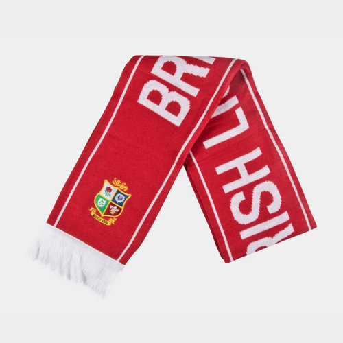 British & Irish Lions 2017 Supporters Rugby Scarf