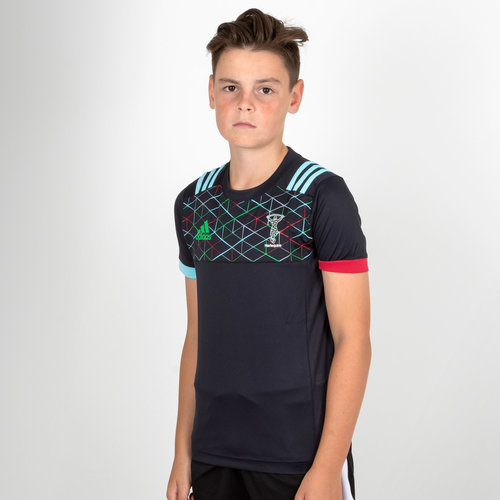 Harlequins 2018/19 Kids Performance Rugby T-Shirt