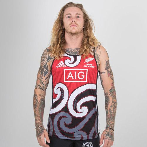 New Zealand Maori All Blacks 2018/19 Rugby Training Singlet
