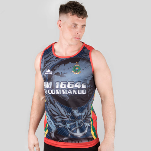 Royal Marines 7's 2018/19 Rugby Training Singlet