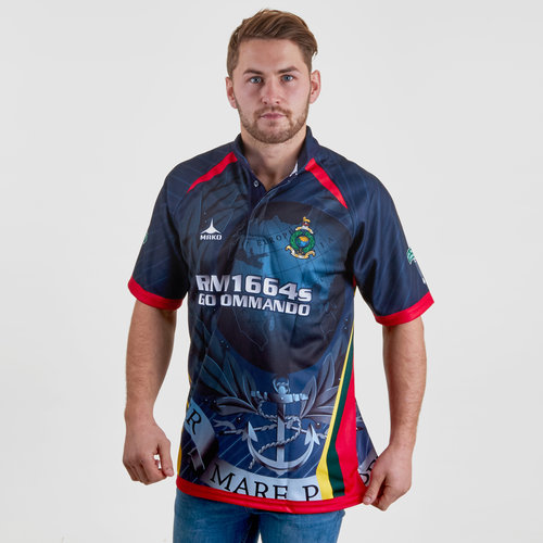 Royal Marines 7's 2018/19 S/S Replica Rugby Shirt