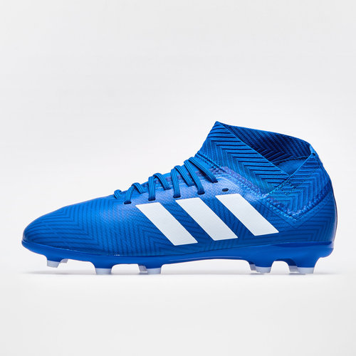 fb873935f adidas Nemeziz 18.3 Kids FG Football Boots. Football Blue Footwear White Football  Blue
